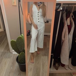 Nasty Gal Pants & Jumpsuits - NASTY GAL white jumpsuit